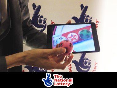 National Lottery – iPad Magician entertains multi millionaires!
